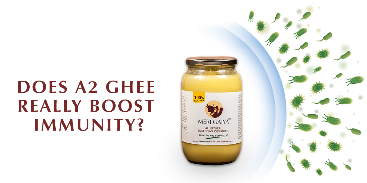 Does A2 Ghee really boost immunity?